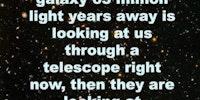 65 million light years away.