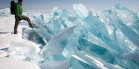 Giant ice shards.