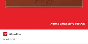 Kitkat tries out social media