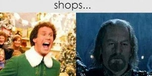 There are two types of Christmas people...