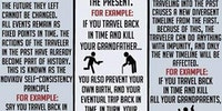 Three theories of Time Travel.