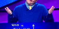 This guy knows how to lose with style on Jeopardy