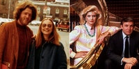 The Clintons and the Trumps in the 1970s