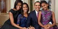 No doubt the most dignified, civilized and sane family we will ever see in the White House in our lifetimes