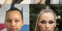 The power of makeup.