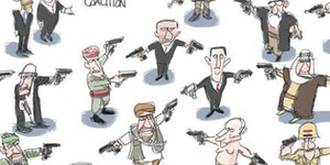 The anti-ISIS coalition