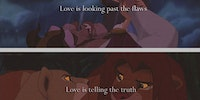Love according to Disney