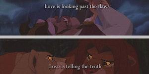 Love according to Disney