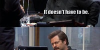 Ron Swanson's Unique Will
