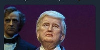 Disney's animatronic Trump is kind of hot.