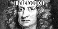 Newton's third law of emotion.