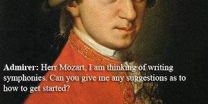 How do I write a symphony?