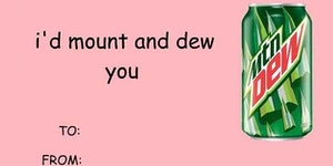 The only Valentine's Day card I'll be needing this year.