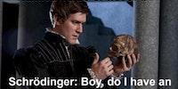 Hamlet is so binary.