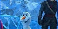 If Olaf Was In The Little Mermaid
