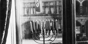 Jews celebrating Hanukkah in 1933
