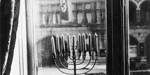 Jews celebrating Hanukkah in 1933
