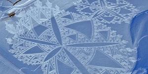 Snow art.