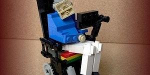 Lego Stephen Hawking.