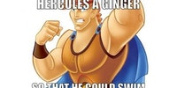 Hercules was a ginger for a reason.