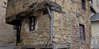 This is what the oldest house in Aveyron, France looks like. It was built some time in the 13th Century.