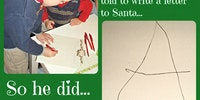 A letter to Santa.