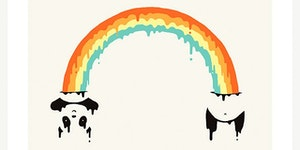 How rainbows are made.