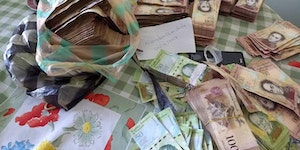 What $5USD buys you in Venezuela.