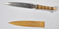King Tut's Blade which was made from Meteorite