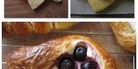 Pastry folding.