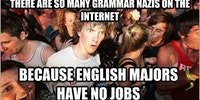Poor English Majors...
