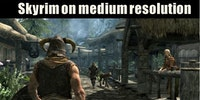 Skyrim graphics.