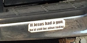 The most American bumper sticker