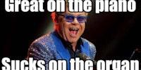 Elton John - A Factoid