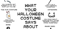 What your Halloween costume says about you.