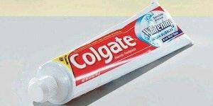 It's toothpaste, I swear