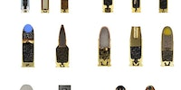 Cutaways of 15 different kinds of bullets