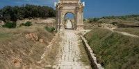 2,000 year old Roman road in Libya
