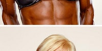Female body builders.