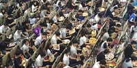 Entrance exam for an art school in China