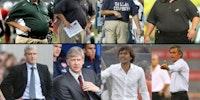 Fashion: NFL coaches vs. European soccer coaches