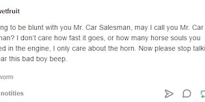 Mr. Car Salesman