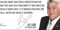 Jay Leno on the Constitution.