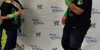 John Cena grants 400th wish to terminally ill kids.
