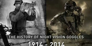 The history of night vision goggles.