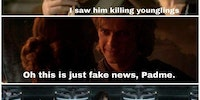 Anakin didn't kill those younglings...