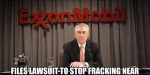 Exxon CEO logic.