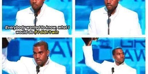One of my favorite Kanye moments