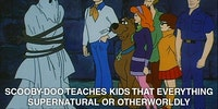 Thank you, Scooby Doo
