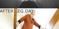 Leg day :/